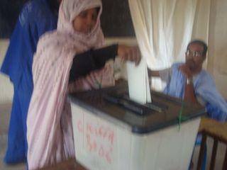 Eléctions présidentielles en Mauritanie